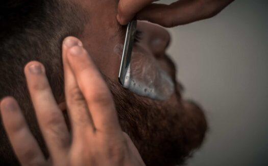 straight shave in kenosha, charlie johns hair parlor, straight razor shave in kenosha